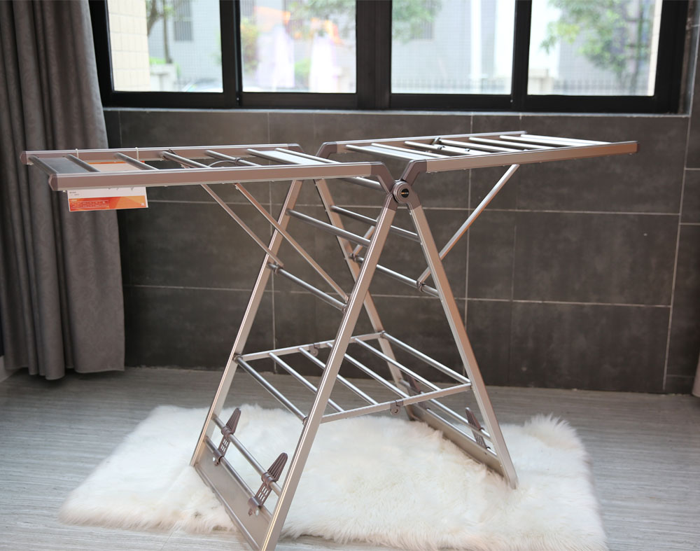 steel clothes rack stand