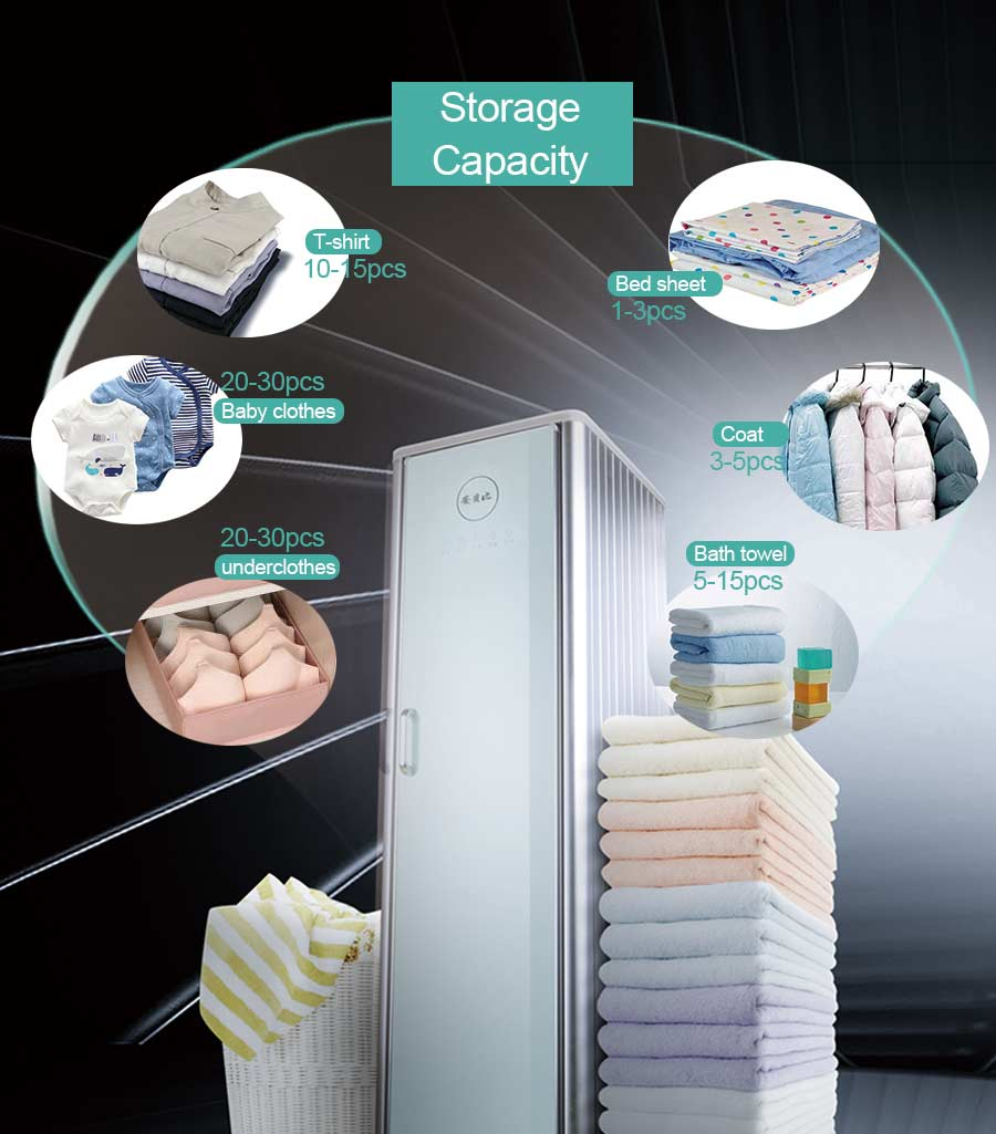 clothes wardrobe with dryer and Sterilize